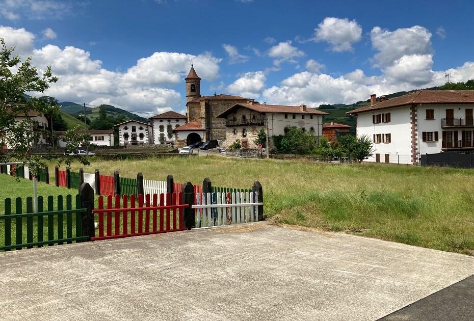 Parcela urbanizada en Donamaria